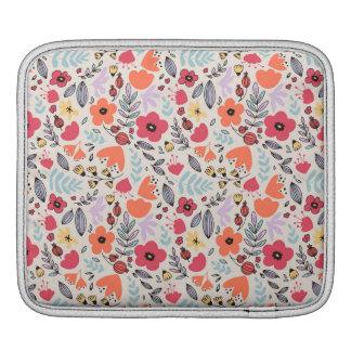 ファンタジーの花 iPadスリーブ