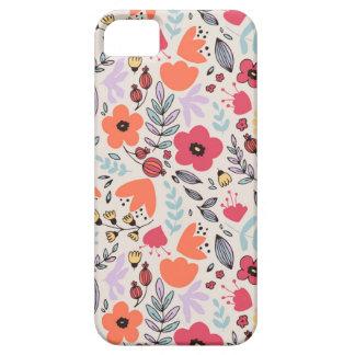 ファンタジーの花 iPhone SE/5/5s ケース