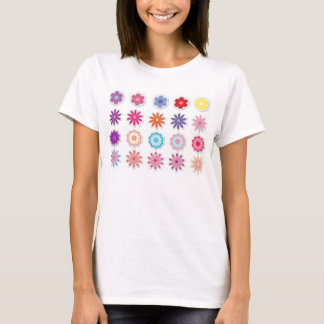ファンタジーの花 Tシャツ