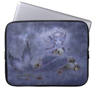 ファンタジーの芸術のラップトップスリーブ-暗い人魚 ラップトップスリーブ