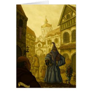 ファンタジーの芸術のgreetingcardの捜索 カード
