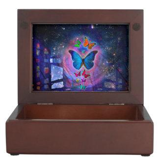 ファンタジーの蝶 ジュエリーボックス