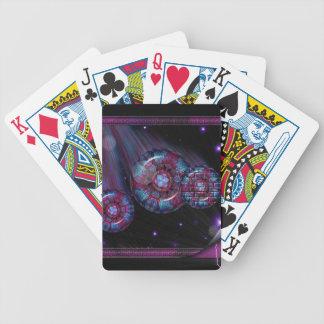 ファンタジーの規模カード バイスクルトランプ