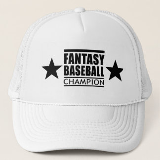 ファンタジーの野球のチャンピオンの星 キャップ