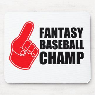 ファンタジーの野球のチャンピオン マウスパッド