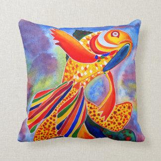 ファンタジーの金魚のデザインの装飾的な枕 クッション
