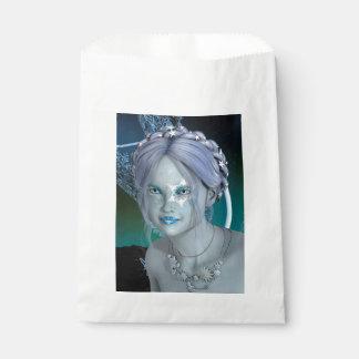 ファンタジーの雪の妖精 フェイバーバッグ