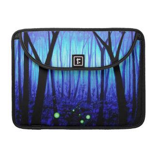 ファンタジーの青い森林MacBookのプロ袖 MacBook Proスリーブ