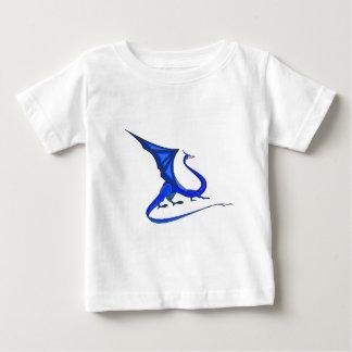ファンタジーの青のドラゴン ベビーTシャツ