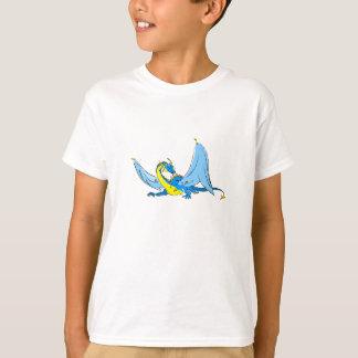 ファンタジーの青のドラゴン Tシャツ
