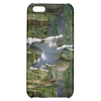 ファンタジーの馬: Bluebell木 iPhone5Cケース