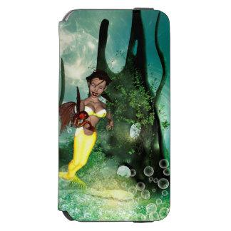 ファンタジーの魚を持つすばらしい人魚 INCIPIO WATSON™ iPhone 6 ウォレットケース