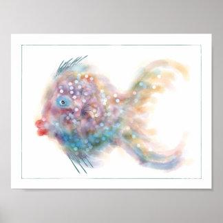 ファンタジーの魚ポスター: ルーシー ポスター