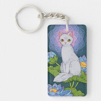ファンタジー猫のOracleの断言-サティ キーホルダー