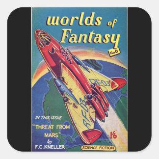 ファンタジー第6 _Augustの1952年の_のBriのパルプの芸術の世界 スクエアシール