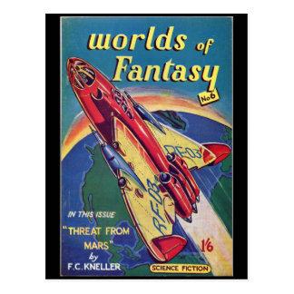 ファンタジー第6 _Augustの1952年の_のBriのパルプの芸術の世界 ポストカード