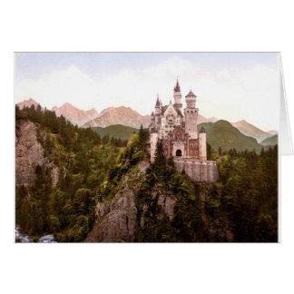 ファンタジー芸術壁紙34、ノイシュヴァンシュタイン城の城 カード