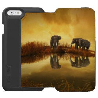 ファンタジー象 INCIPIO WATSON™ iPhone 5 財布型ケース