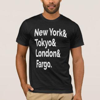 ファーゴの故郷のTシャツ Tシャツ
