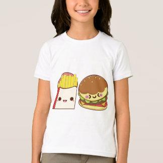 ファースト・フードのカップル Tシャツ