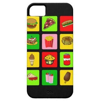 ファースト・フードの麻薬常習者のiPhoneの穹窖 iPhone SE/5/5s ケース
