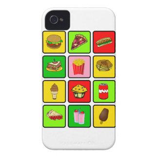 ファースト・フードの麻薬常習者のiPhone 4の穹窖 Case-Mate iPhone 4 ケース