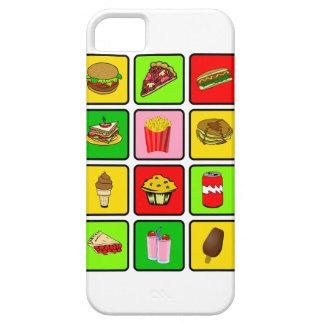 ファースト・フードの麻薬常習者のiPhone 5の穹窖 iPhone SE/5/5s ケース