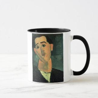 フアン・グリスのポートレート(1887-1927年) 1915年(油はできます マグカップ