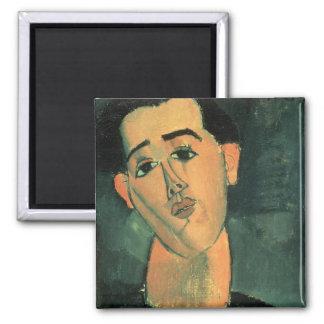 フアン・グリスのポートレート(1887-1927年) 1915年(油はできます マグネット
