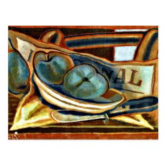 フアン・グリス-りんご、フアン・グリス著静物画の芸術 ポストカード