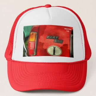 フィアット500のトラック運転手の帽子 キャップ