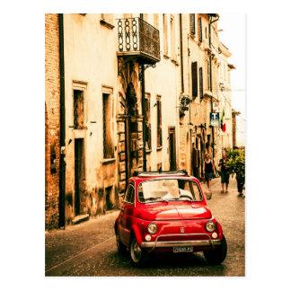 フィアット500、イタリアのCinquecento ポストカード