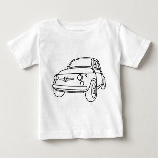 フィアット500 Classico ベビーTシャツ