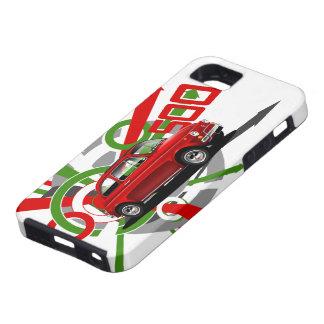 フィアット500 IPhoneの箱 iPhone SE/5/5s ケース