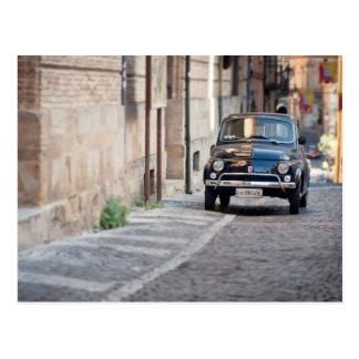 フィアット500、Lanciano、イタリアのCinquecento ポストカード