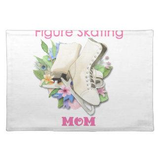フィギュアスケートのお母さんのギフトのベストのピンク ランチョンマット
