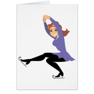 フィギュアスケートの挨拶状 カード