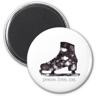 フィギュアスケートの磁石ボタンのコレクター マグネット