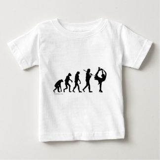 フィギュアスケートの進化 ベビーTシャツ