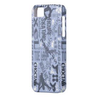 フィギュアスケートのIphoneカバー iPhone SE/5/5s ケース