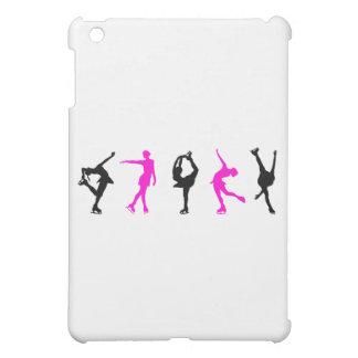 フィギュアスケート選手のショッキングピンク及び黒 iPad MINIケース