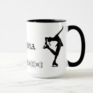 フィギュアスケート選手のマグ-名前 マグカップ