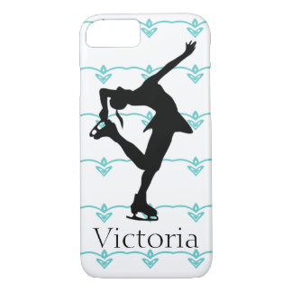 フィギュアスケート選手の名前入りなiPhone 7の場合 iPhone 8/7ケース