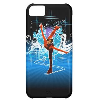 フィギュアスケート選手のiPhone 5の例 iPhone5Cケース
