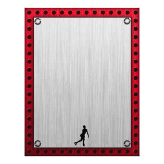 フィギュアスケート; 赤い金属一見 レターヘッド