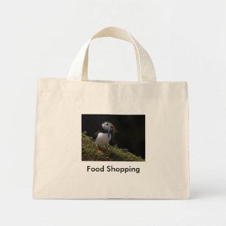 フィッシャーのツノメドリ、食料品店 ミニトートバッグ