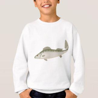 フィッシャーのマスを採取しているなま臭い魚 スウェットシャツ