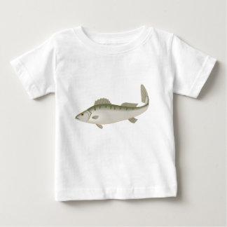 フィッシャーのマスを採取しているなま臭い魚 ベビーTシャツ