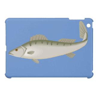 フィッシャーのマスを採取しているなま臭い魚 iPad MINIケース