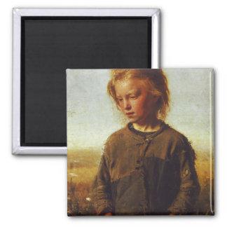 フィッシャーの女の子1874年 マグネット